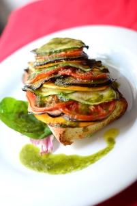Panini de verduras
