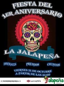 Fiesta Aniversario La Jalapeña